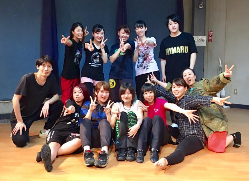 上尾市の情報広場のS/K Funky Dance Studio