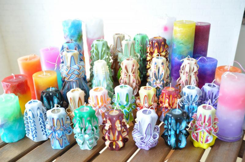 Carving Candle Japan Terhibur