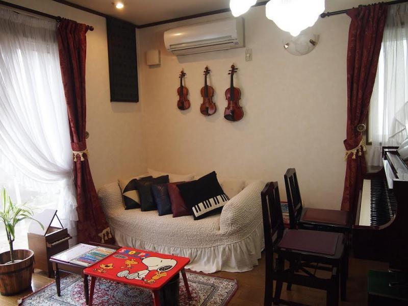 上尾市の情報広場のあたごピアノ教室