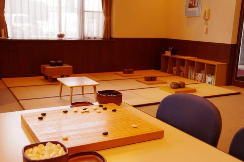 上尾市の情報広場の原市囲碁教室