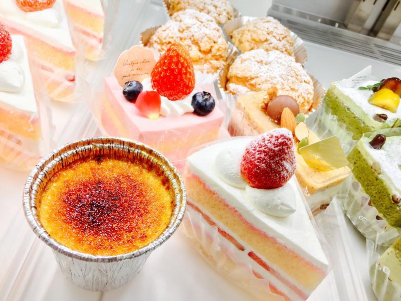 上尾市の情報広場のケーキ工房 パレット